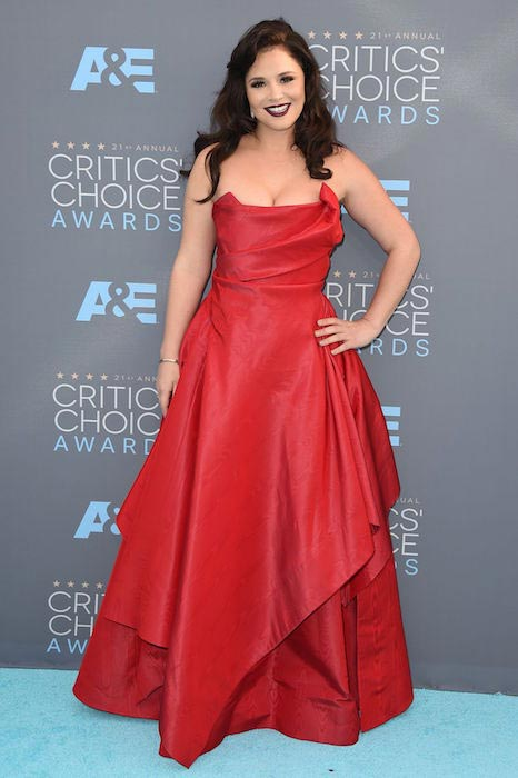 Kether Donohue at 2016 Critics' Choice Awards in Santa Monica