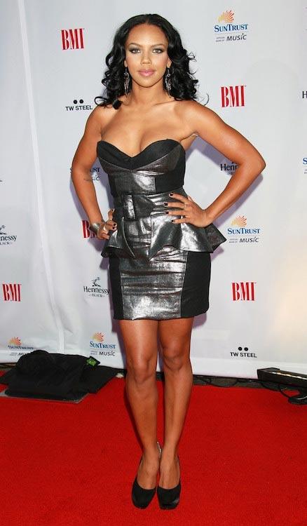 Kiely Williams at 10th Annual BMI Urban Awards in September 2010