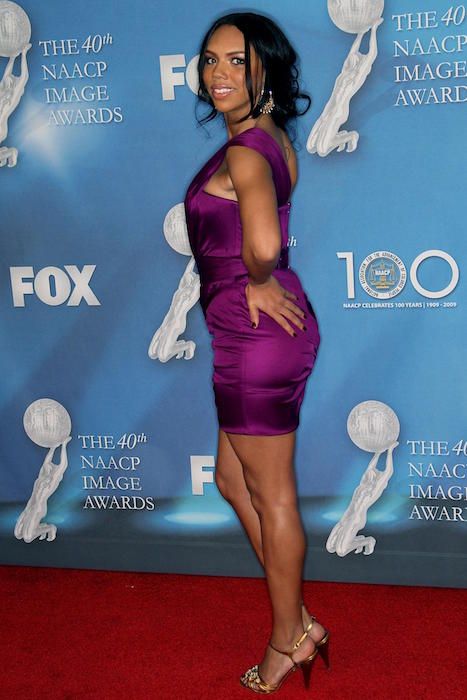 Kiely Williams at 40th NAACP Image Awards in February 2009