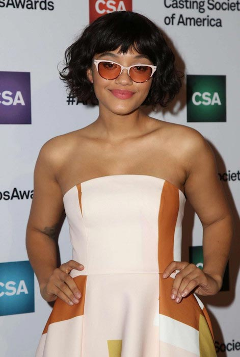Kiersey Clemons at the Casting Society Of America's 31st Annual Artios Awards 2016