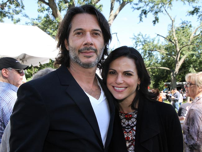 Lana Parrilla and Fred Di Blasio
