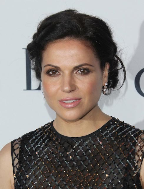 Lana Parrilla at Elle's 6th Annual Women in Television Dinner in West Hollywood in January 2016