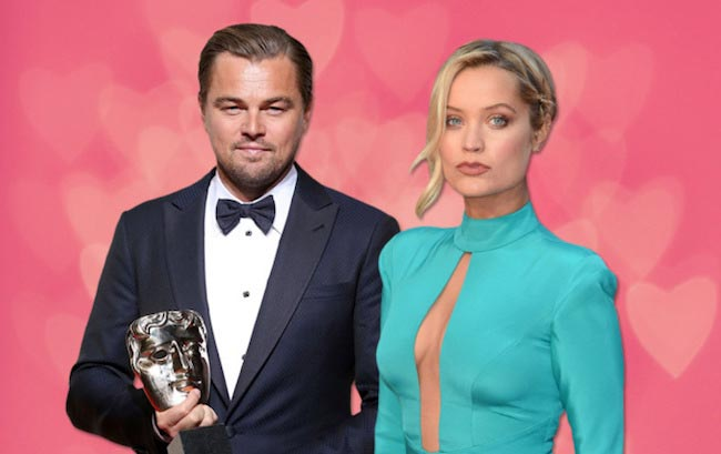 Leonardo DiCaprio and Laura Whitmore