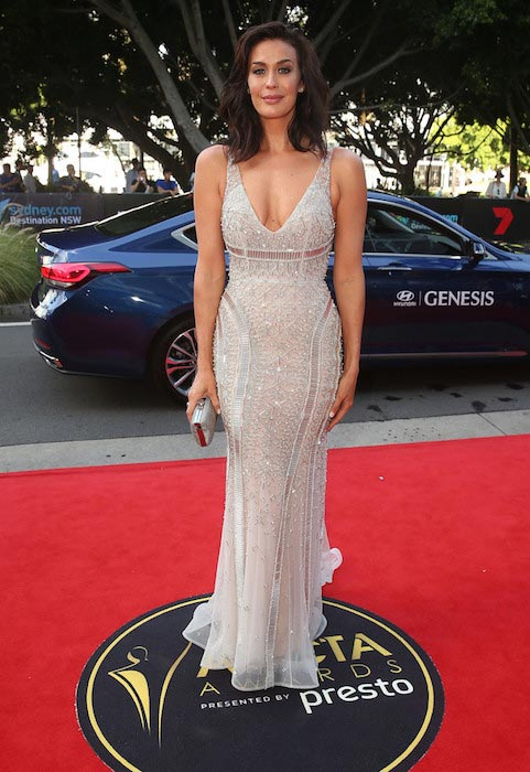 Megan Gale at the 5th AACTA Awards in December 2015