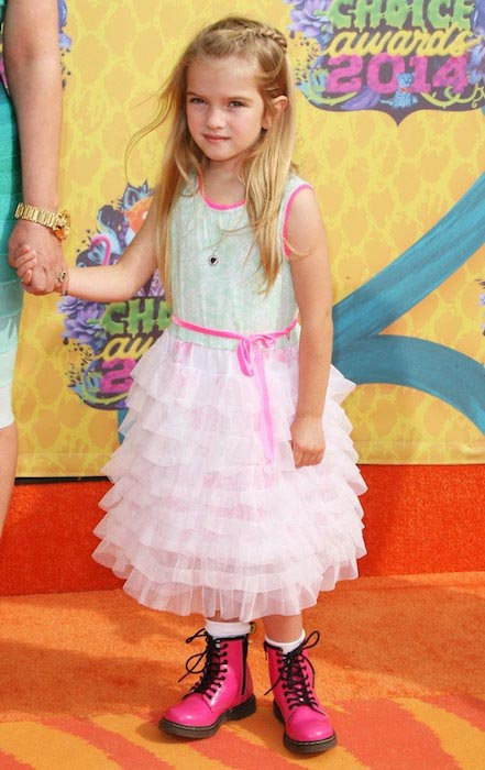 Mia Talerico at 27th Annual Kids Choice Awards in 2014
