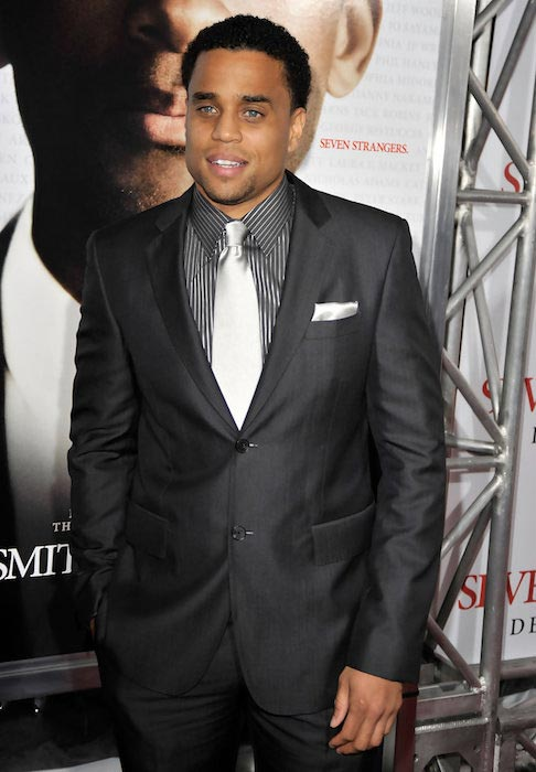 """Michael Ealy at the premiere of """"Seven Pounds"""" in December 2008"""
