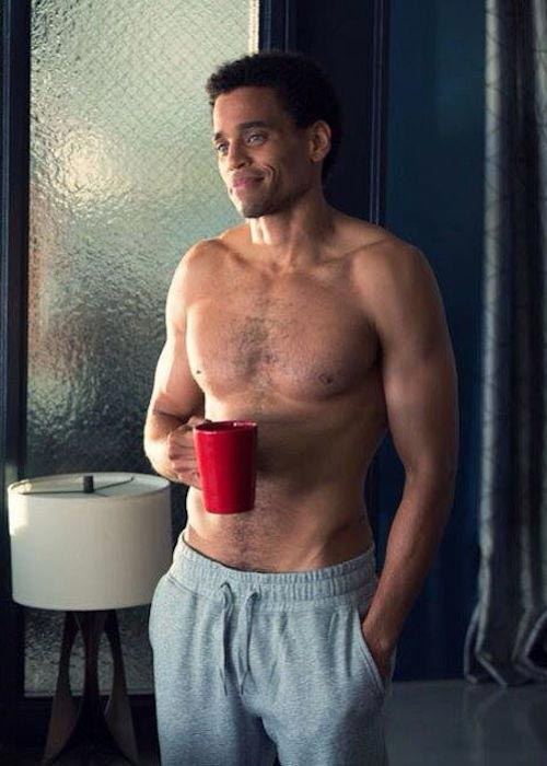 Michael Ealy shirtless body