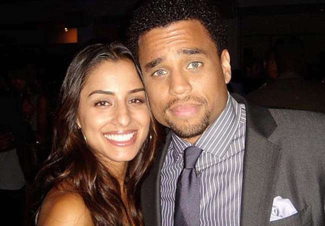 Michael Ealy with wife Khatira Rafiqzada