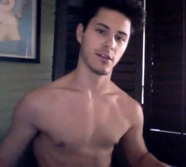 Michael J. Willett shirtless body