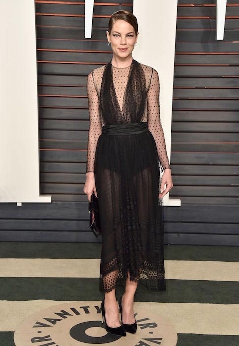 Michelle Monaghan at 2016 Vanity Fair Oscar Party in Beverly Hills