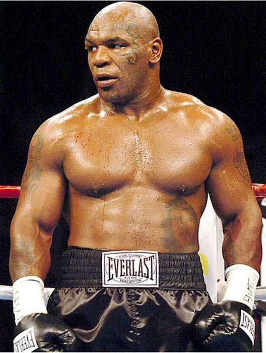 Mike Tyson shirtless body