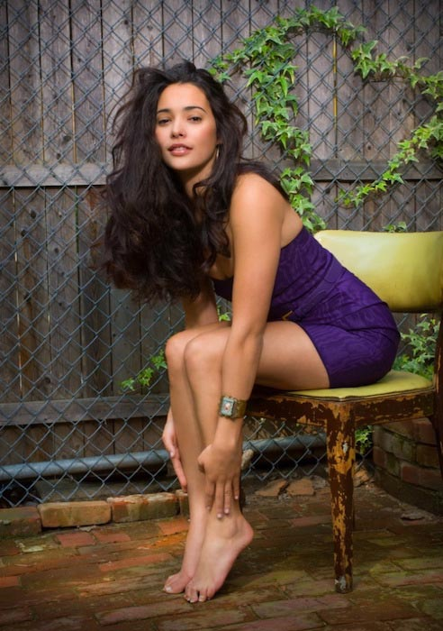 Natalie Martinez hot legs