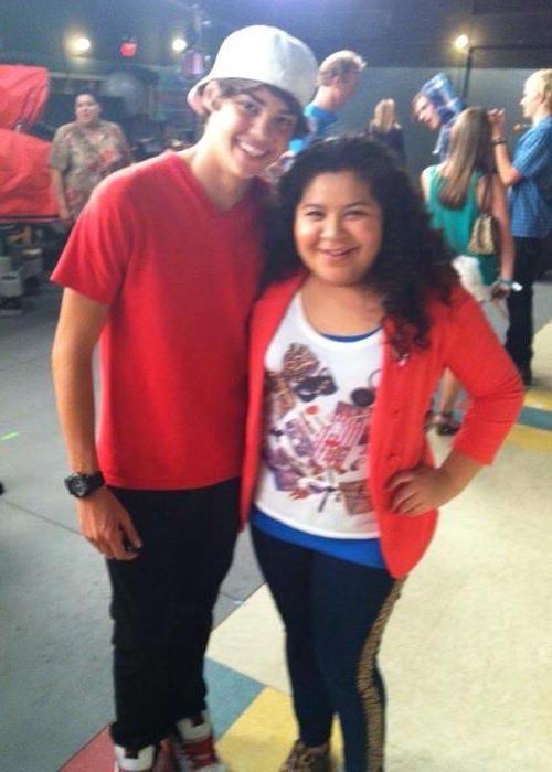 Noah Centineo with Raini Rodriguez