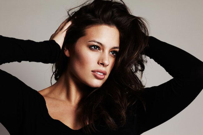Plus size model, Ashley Graham headshot