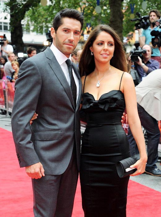Scott Adkins and Lisa Adkins