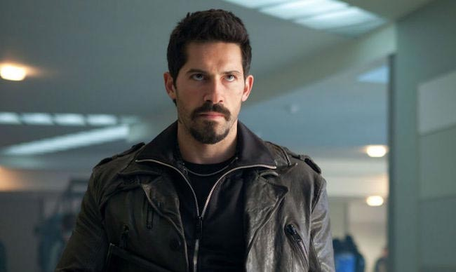 Scott Adkins film scene