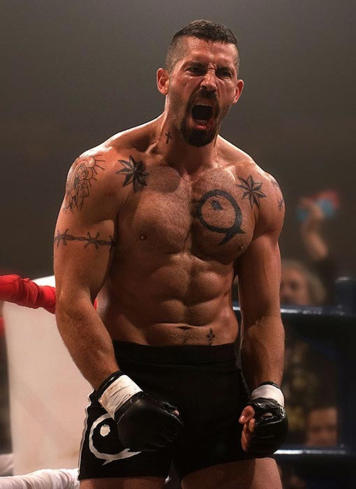 Scott Adkins shirtless body