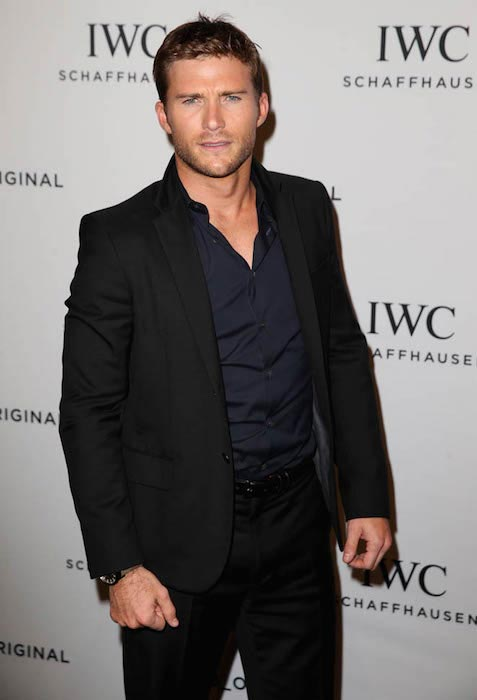 Scott Eastwood at the launch of luxury watch IWC in January 2016