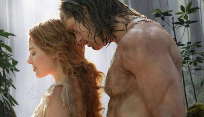 Tarzan and Jane Porter