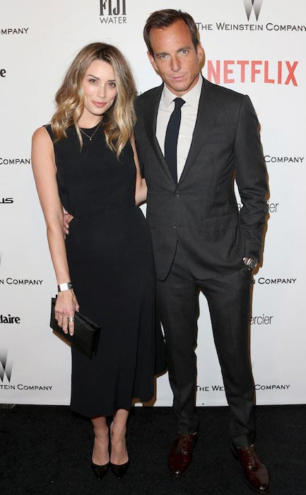 Will Arnett and Arielle Vandenberg at Golden Globes 2015 After Party