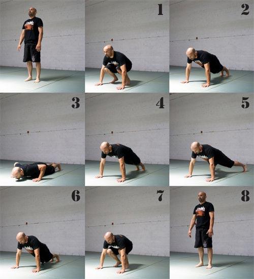 8 Count Bodybuilders