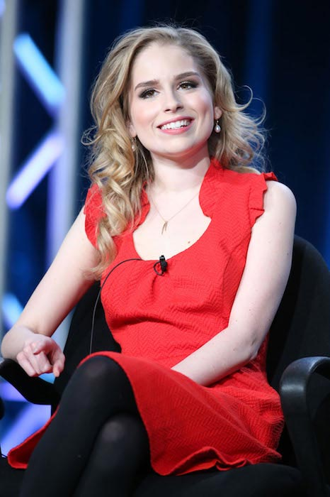 Allie Grant at Winter TCA Tour in 2014