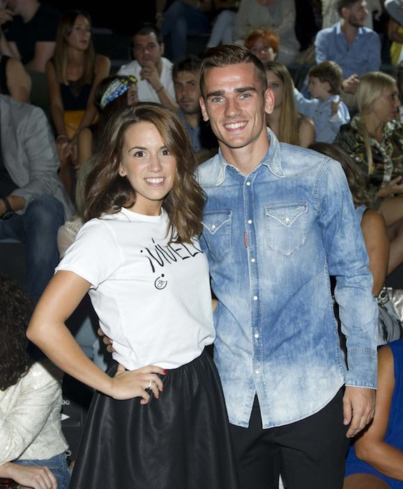 Antoine Griezmann and Erika