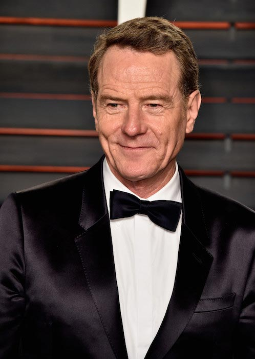Bryan Cranston at 2016 Vanity Fair Oscar Party