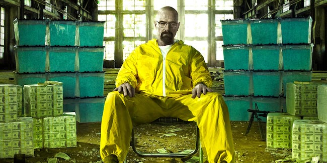 "Bryan Cranston as Walter White in ""Breaking Bad"""