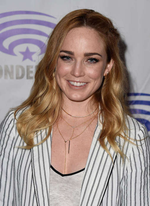 Caity Lotz at DCs Legends of Tomorrow Panel at WonderCon 2016