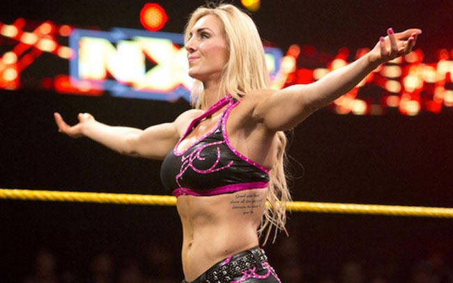 Charlotte's taut stomach