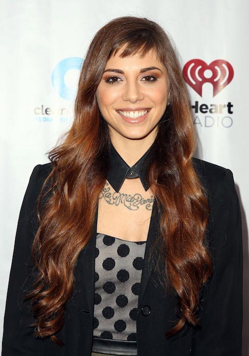 Christina Perri at iHeartRadio's Artists on the Verge in March 2014