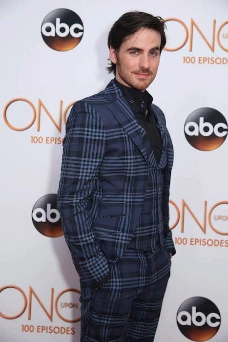 Colin O'Donoghue at the celebration of Once Upon a Time's 100 episodes in 2016