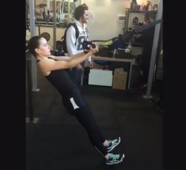 Daisy Ridley workout