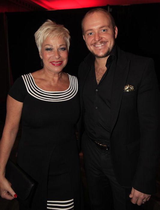 Denise Welch with hubby Lincoln Townley