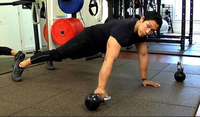 Dennis Remorca workout