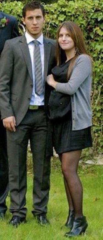Eden Hazard and wife Natasha Van Honacker