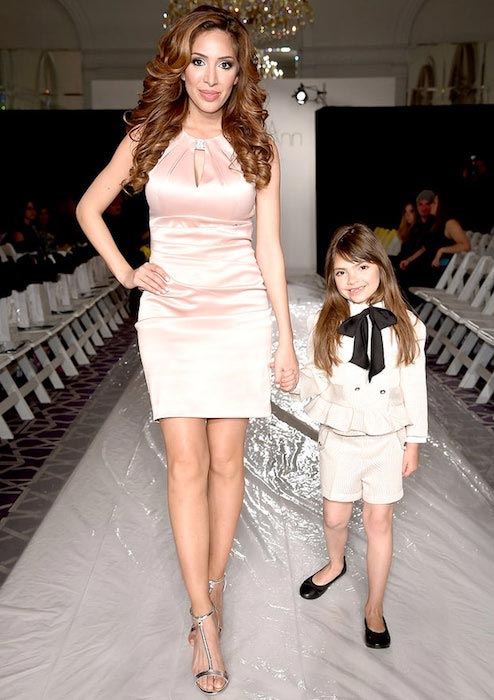 Farrah Abraham and her daughter Sophia Abraham
