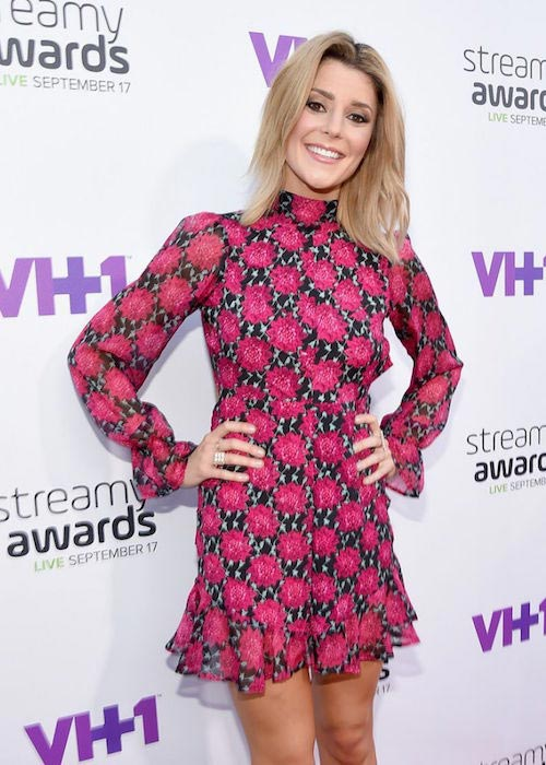 Grace Helbig at 2015 Streamy Awards in Los Angeles
