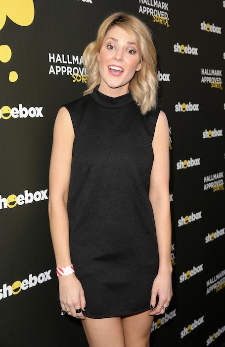 Grace Helbig at Shoebox's 29th Birthday Celebration in June 2015