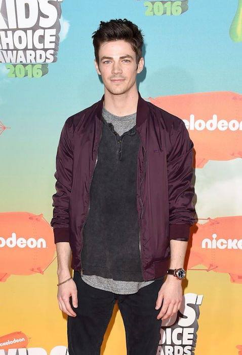 Grant Gustin at Nickelodeon's 2016 Kids Choice Awards