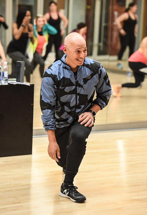 Harley Pasternak teaching fitness