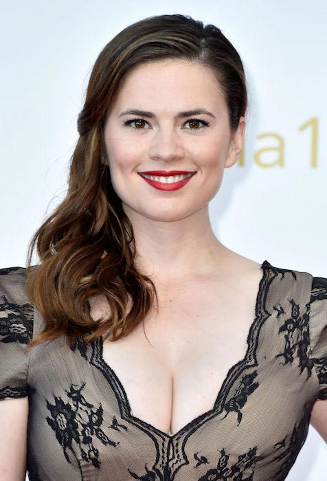 Hayley Atwell at 55th Monte Carlo TV Festival in Monaco in 2015