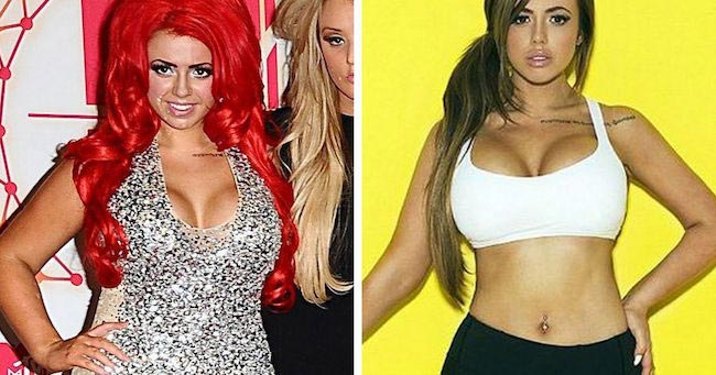 Holly Hagan before and after