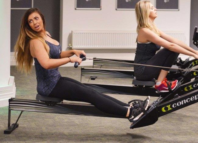 Holly Hagan workout