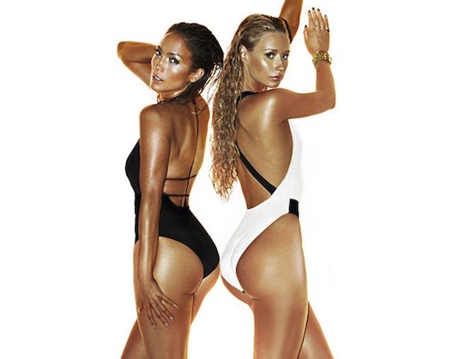 Iggy Azalea and Jennifer Lopez