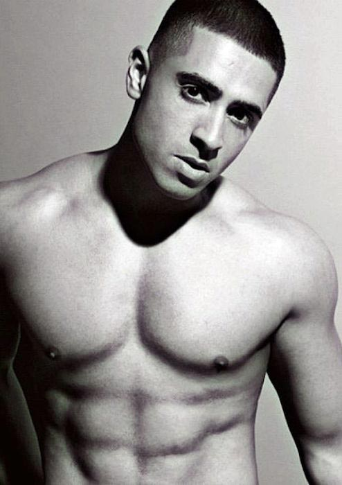 Jay Sean shirtless body