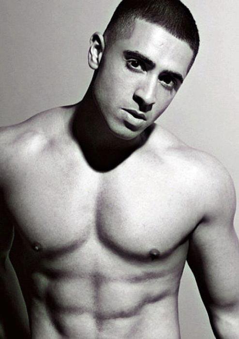 Jay Sean shirtless body