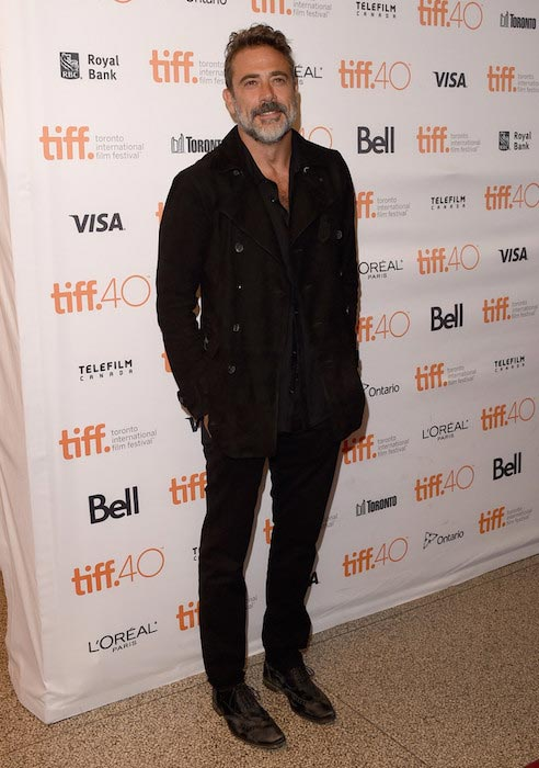 Jeffrey Dean Morgan at the 2015 International Film Festival in Toronto, Canada