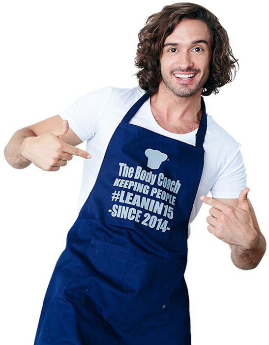 Joe Wicks is a good cook